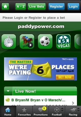 Paddypower Mobile