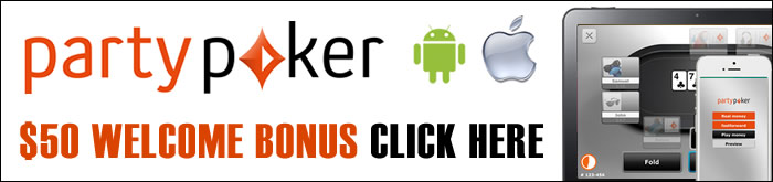 Install PartyPoker on Apple phones and tablets