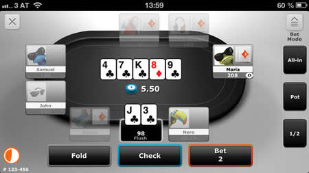 Play PartyPoker Mobile